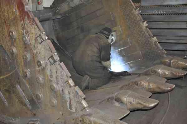Изготовление и ремонт ковшей для экскаваторов