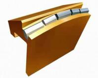 Резец для тоннеллепроходческих комплексов