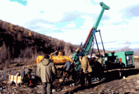 Бурение колонковым способом в осложненных геологических условиях